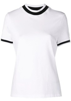 T by Alexander Wang cropped round neck T-shirt