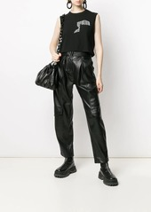 T by Alexander Wang cropped tank top