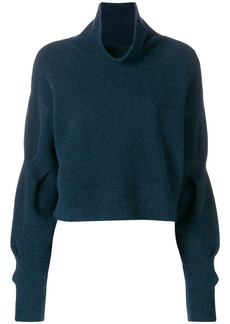 T by Alexander Wang cropped turtleneck jumper