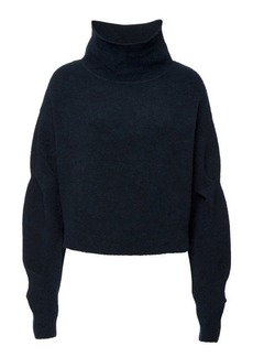 T by Alexander Wang Cropped Wool Pullover