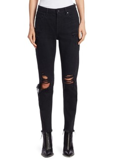 Alexander Wang Cult Distressed Skinny Jeans
