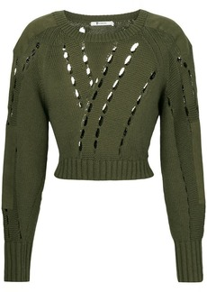 T by Alexander Wang cut-detail sweater