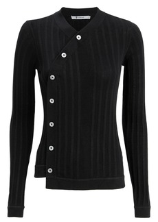 T by Alexander Wang Deconstructed Placket Top