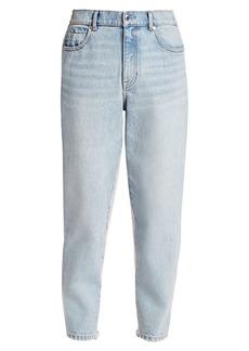 T by Alexander Wang Denim & Sweatpant Combo Pants