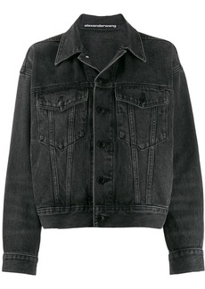 T by Alexander Wang denim boyfriend jacket