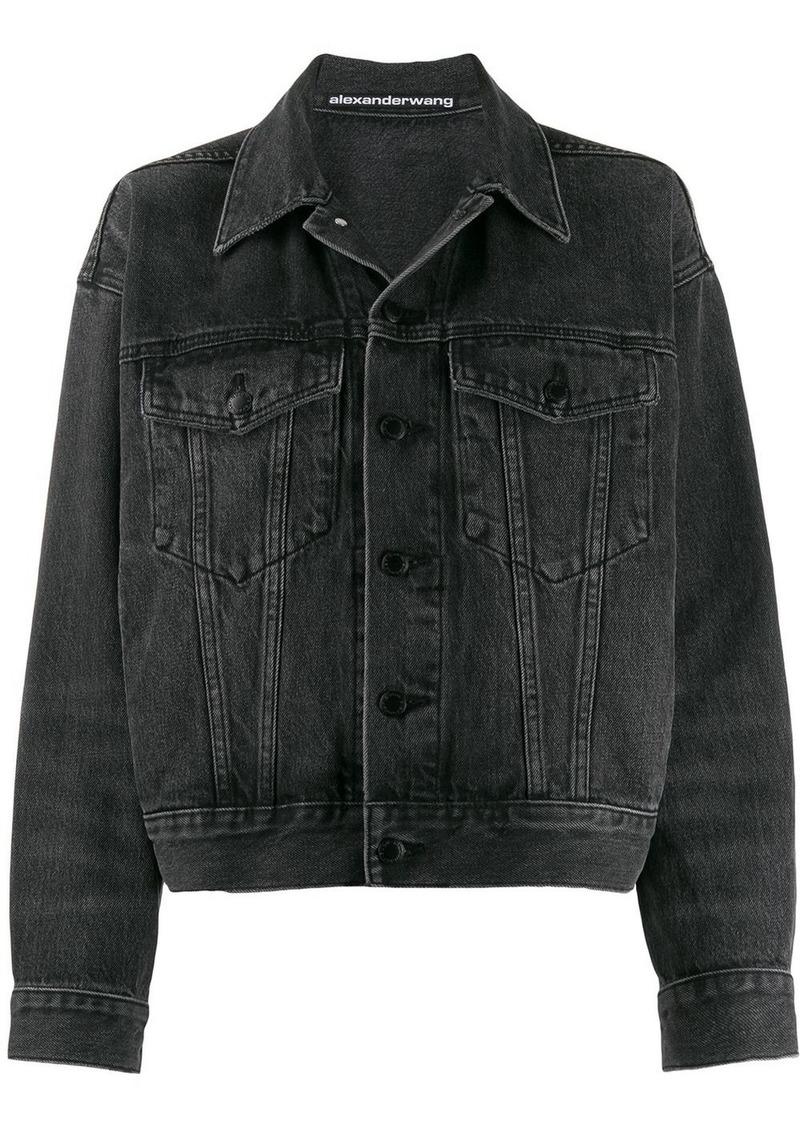 T by Alexander Wang denim boyfriend jacket