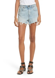 T by Alexander Wang Denim x Alexander Wang Bite Light Denim Shorts