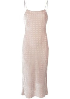 T by Alexander Wang Devore midi dress