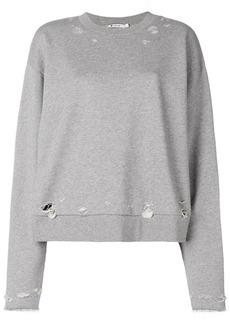 T by Alexander Wang distressed sweatshirt