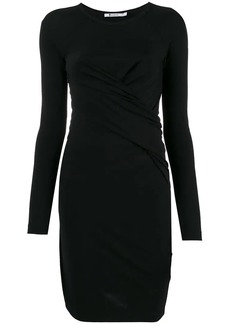 T by Alexander Wang draped front dress