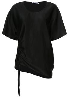 T by Alexander Wang draped short sleeved top