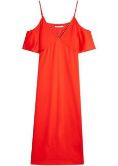 T by Alexander Wang Dress with Cut-Out Shoulders