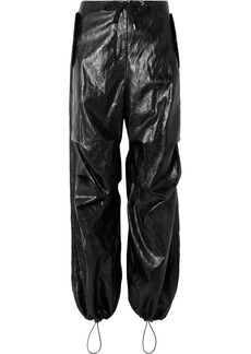 T by Alexander Wang Faux Leather Pants