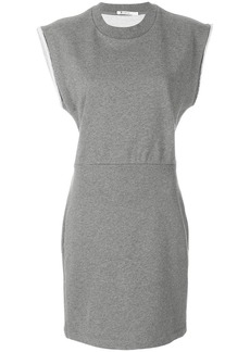 T by Alexander Wang fitted jersey dress