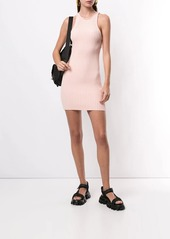 T by Alexander Wang fitted ribbed knit dress
