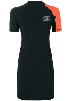 T by Alexander Wang fitted scuba dress