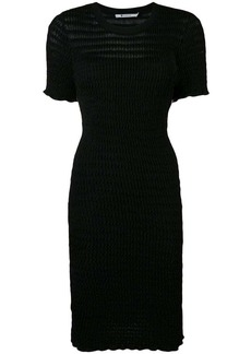 T by Alexander Wang fitted T-shirt dress