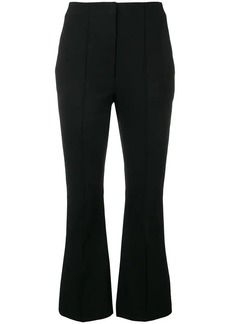 T by Alexander Wang flared cropped trousers