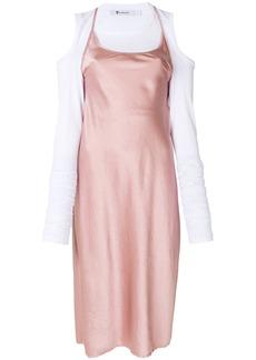 T by Alexander Wang flared midi dress