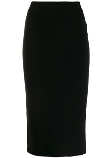 T by Alexander Wang Foundation bodycon skirt