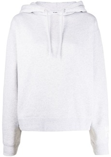 T by Alexander Wang Foundation logo-print hoodie
