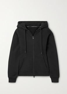 T by Alexander Wang French Cotton-terry Hoodie