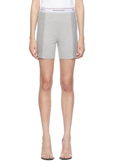 T by Alexander Wang Grey Compact Wash & Go Shorts