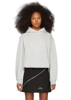 T by Alexander Wang Grey Heavy French Terry Hoodie