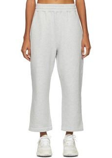 T by Alexander Wang Grey Heavy French Terry Lounge Pants
