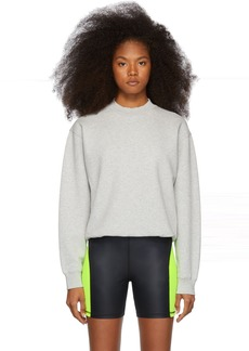 T by Alexander Wang Grey Heavy French Terry Sweatshirt
