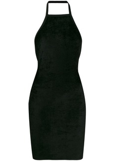 T by Alexander Wang halter neck dress