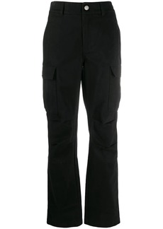 T by Alexander Wang high-waisted cargo trousers
