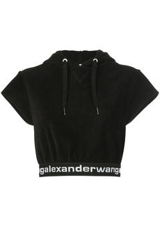 Alexander Wang hooded crop top