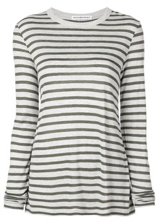 T by Alexander Wang horizontal striped T-shirt