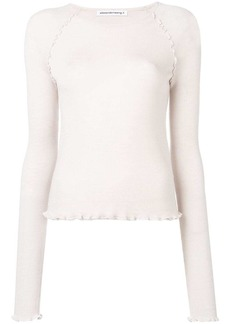 T by Alexander Wang jersey knitted top