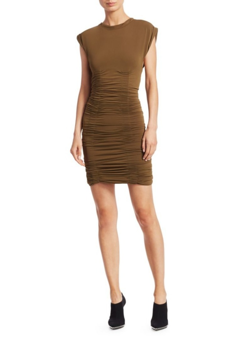 Alexander Wang Jersey Ruched Mini Dress