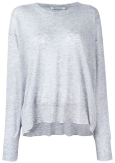 T by Alexander Wang knit long sleeve top