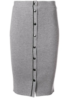 T by Alexander Wang knit midi pencil skirt