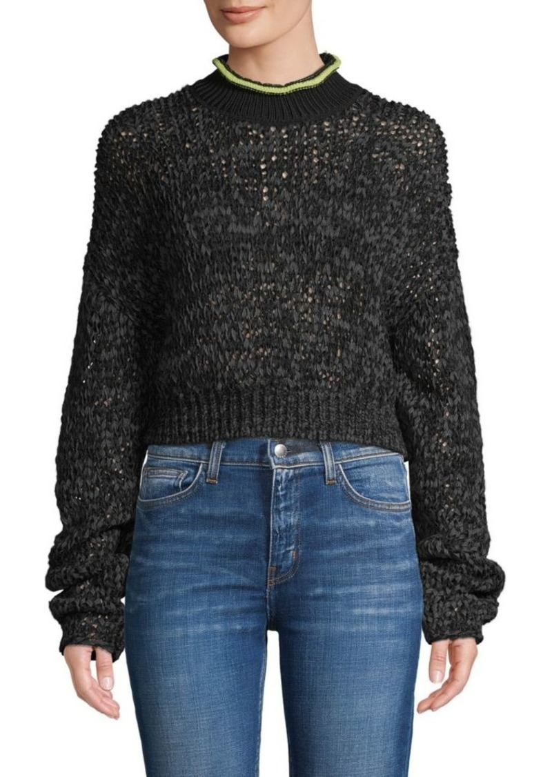 T by Alexander Wang Knit Textured Sweater