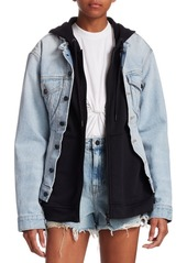 T by alexander wang layered denim jacket abv2a394ce1 a