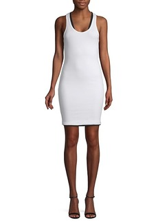 T by Alexander Wang Layered Tank Dress