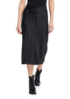 T by Alexander Wang Light Wash & Go Skirt