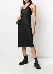 T by Alexander Wang Light Wash & Go spaghetti strap dress