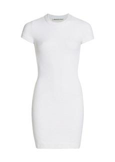 T by Alexander Wang Logo Jacquard Mini Dress