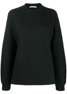 T by Alexander Wang logo print sweatshirt