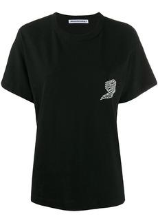 T by Alexander Wang logo print T-shirt