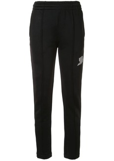 T by Alexander Wang logo print track trousers