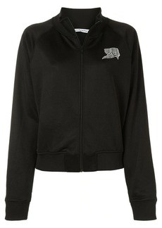 T by Alexander Wang logo print zipped jacket