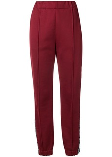 T by Alexander Wang logo track pants