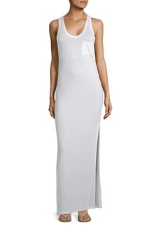 T by Alexander Wang Long Classic Tank Dress